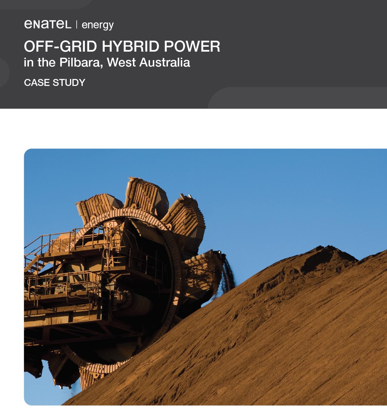 Off Grid Hybrid Power Case Study - Enatel Energy