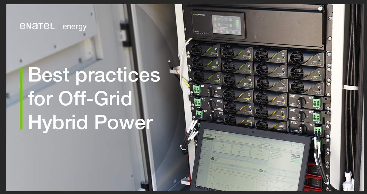 best practices for off grid power