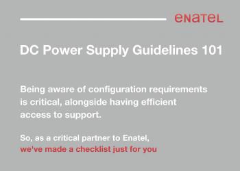 Enatel DC Power Supply Guidelines